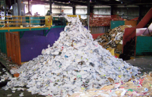 pile of paper