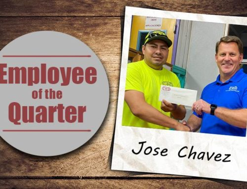 Jose Chavez – Employee of First Quarter